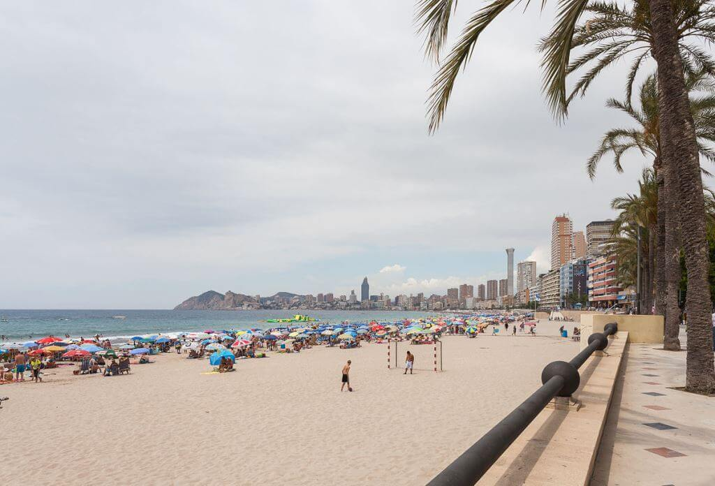 6 beaches in Benidorm