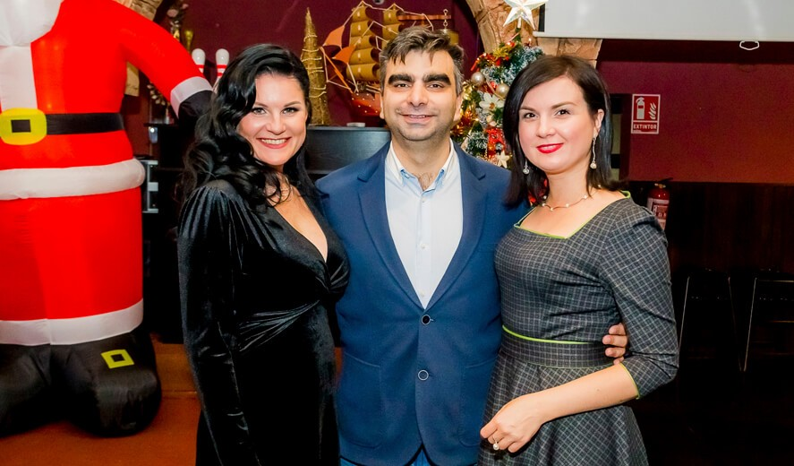 Фотоотчет с новогоднего корпоратива 2019 компании Alegria