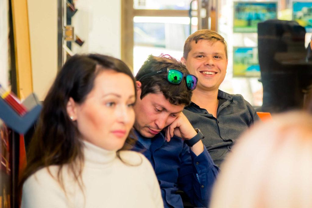 Alegria в лицах: фотоотчет со встречи отдела продаж 8 апреля