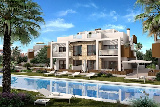 bungalow v ispanii