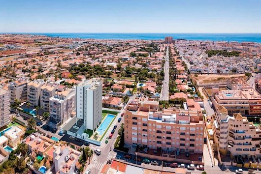 Cheap new build property in Torrevieja