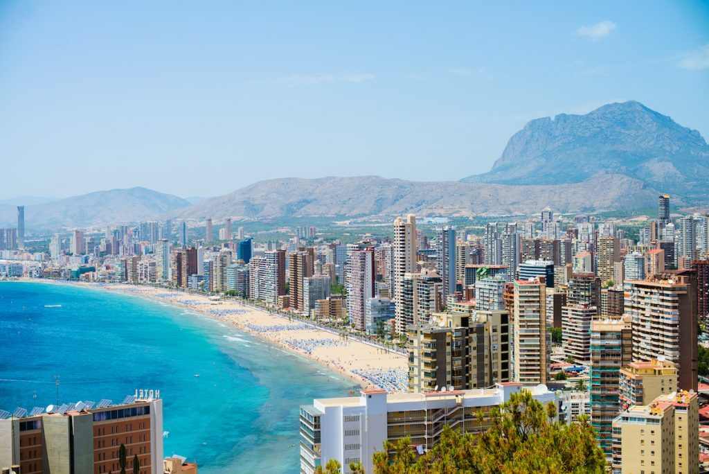 Most important towns in the Costa Blanca North and property in the north of Alicante