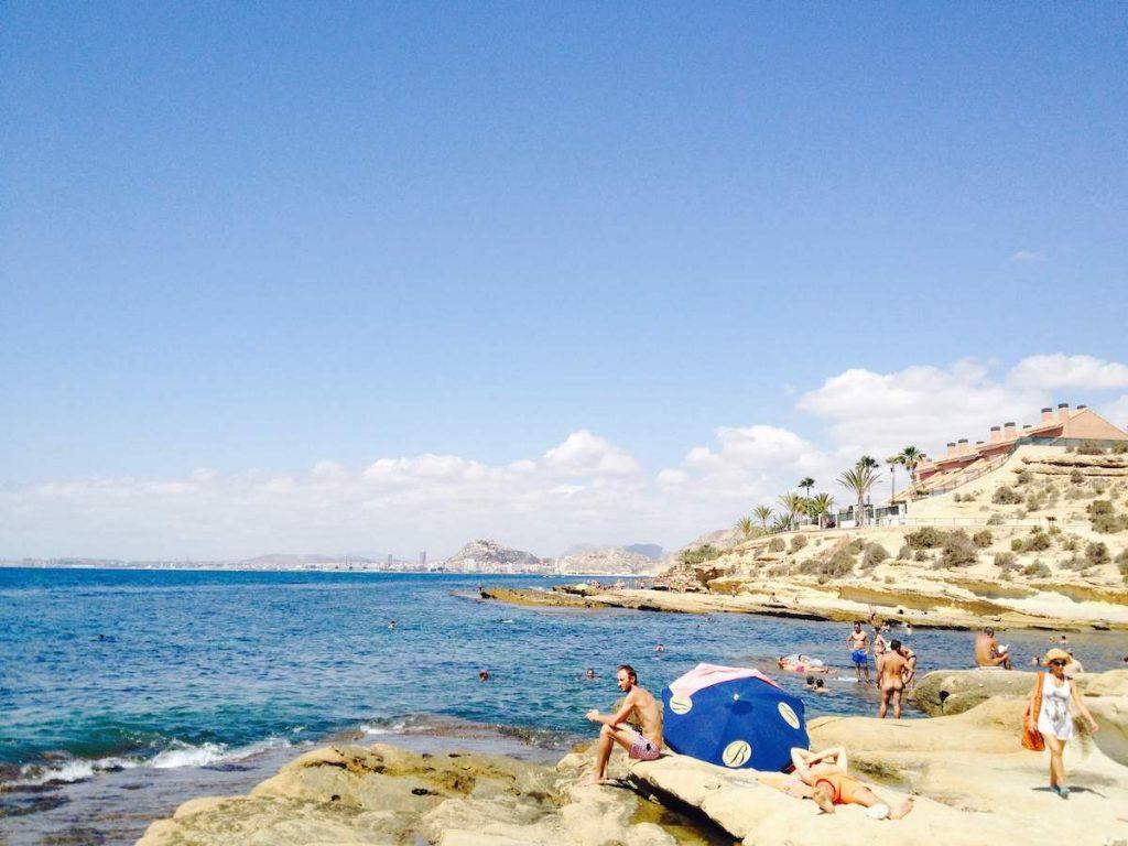 beaches of costa blanca