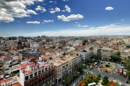 Flat in Valencia next to Parque Turia with Terazza