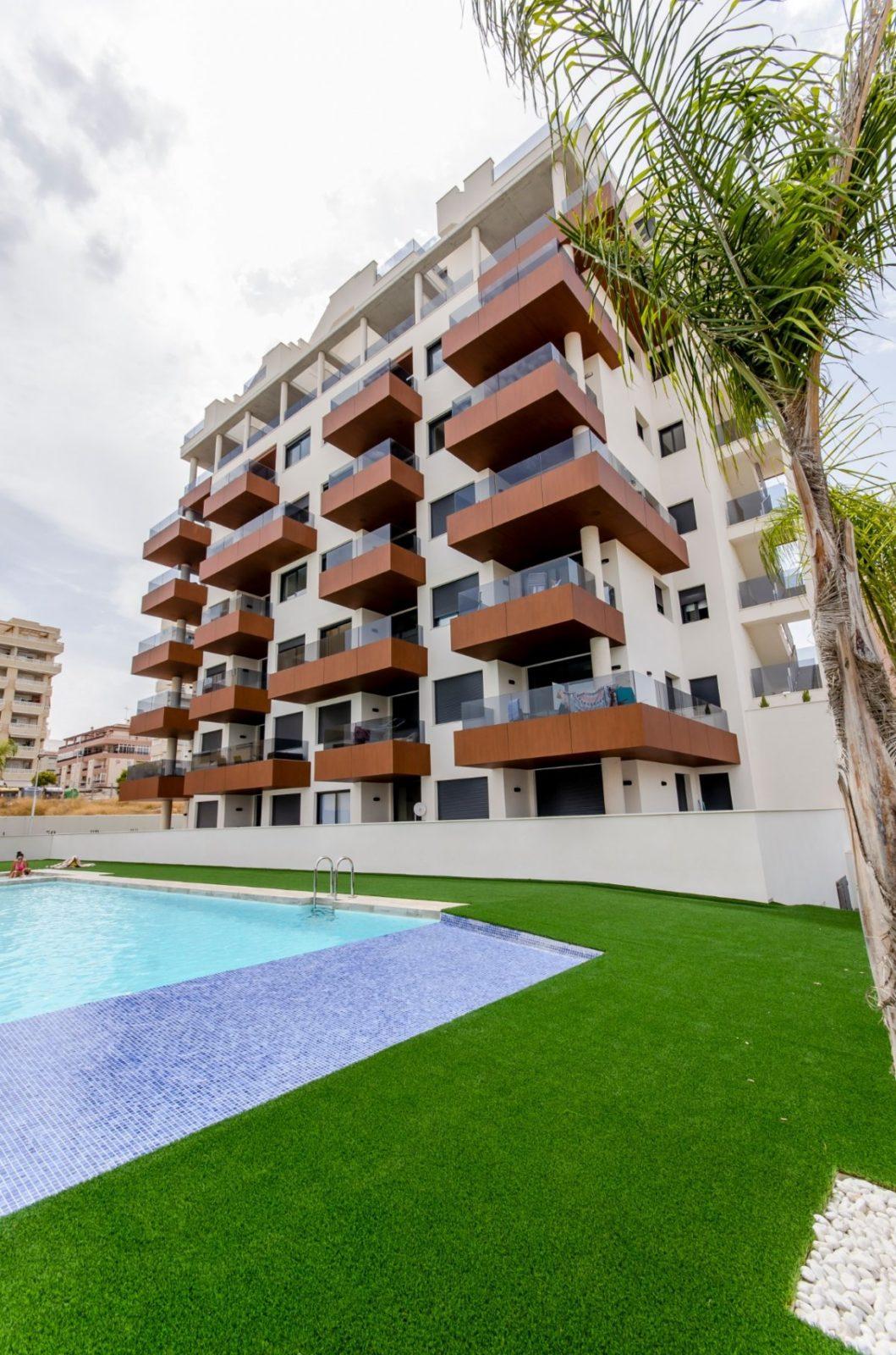 Great new apartment in Guardamar Del Segura.