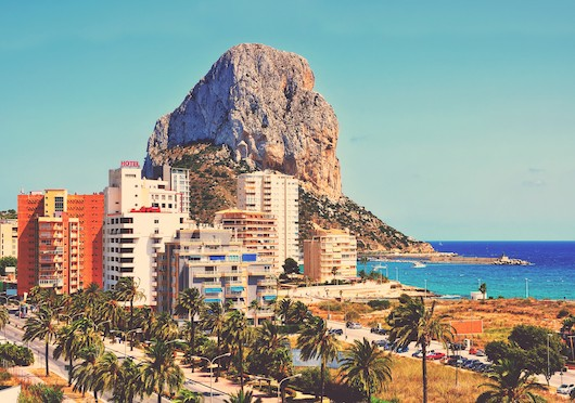 Buy a new build home in Calpe