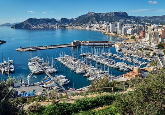 Prices of new build homes in Calpe