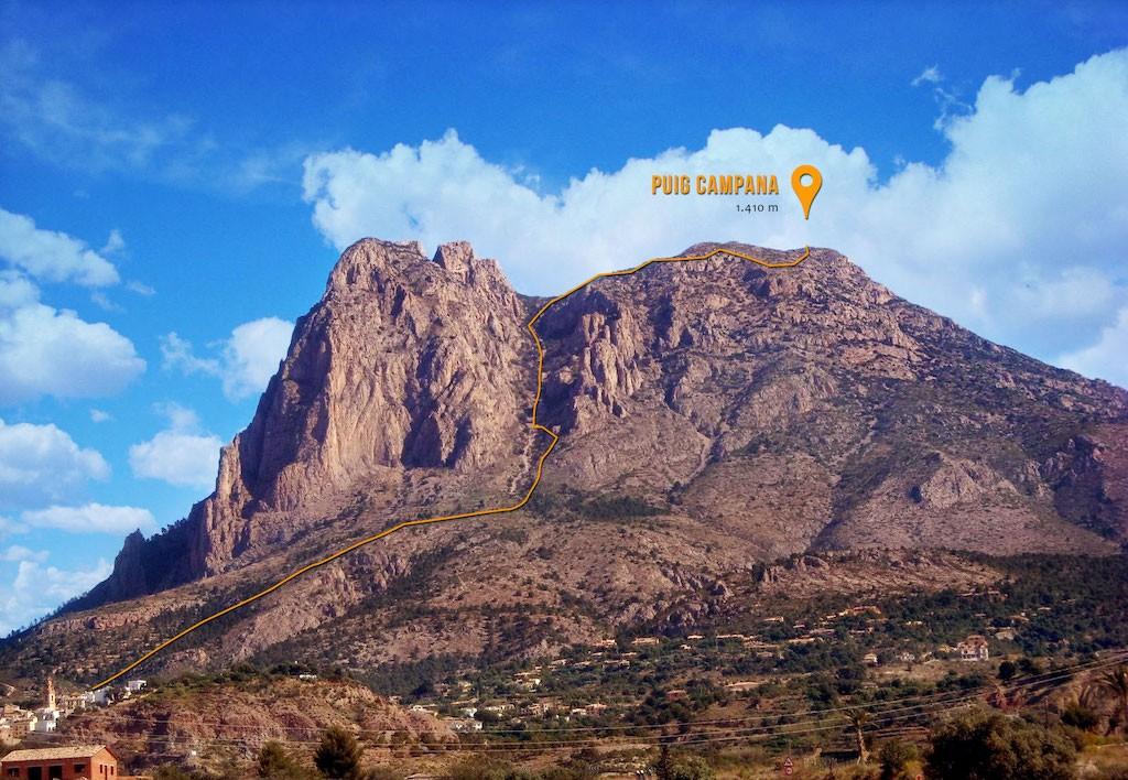 Горы провинции Аликанте: полный гид для любителей пешего туризма