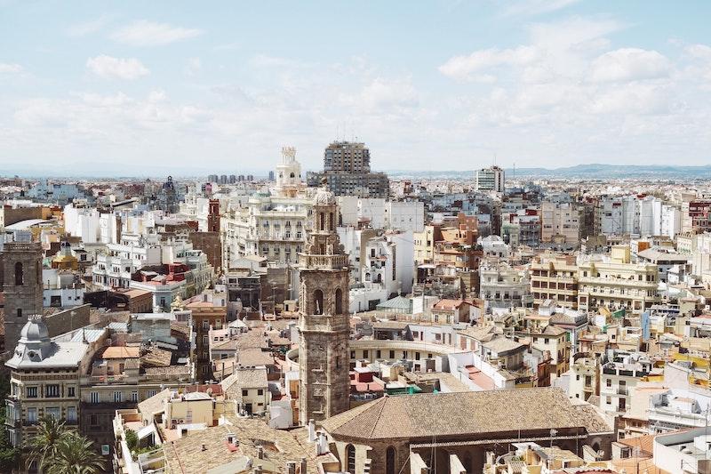 Валенсия. Старый город