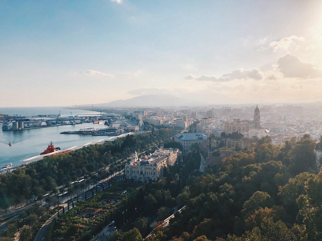 Малага: районы города